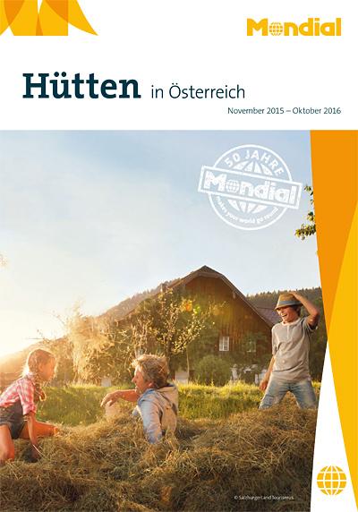 Cover Katalog Hütten in Österreich